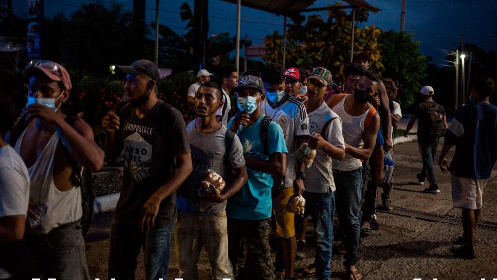 """EE.UU. advierte a futuras caravanas migrantes: """"No pierdan su tiempo, ni su dinero"""" - Foto de EFE"""