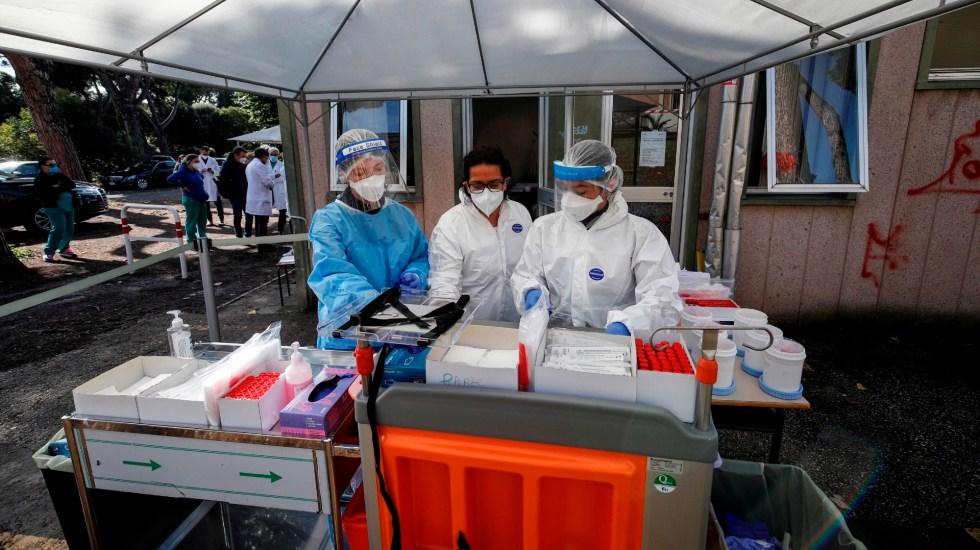 Italia supera por primera vez los 30 mil contagios en un día - Foto de EFE