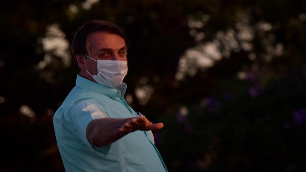 Bolsonaro reitera su apoyo a Trump y espera que sea reelegido - Foto de EFE