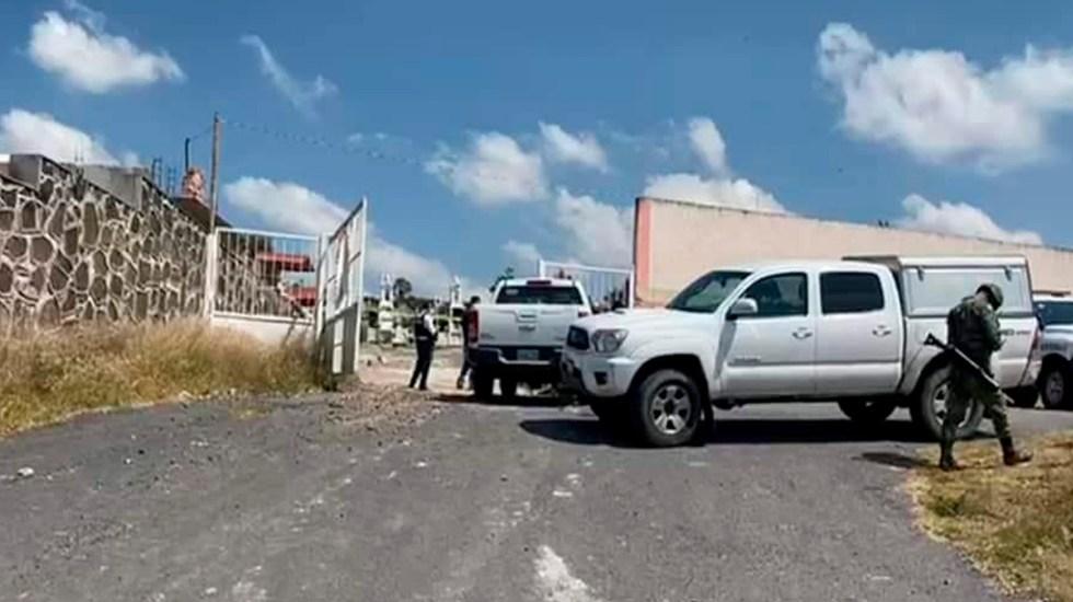 Asesinan a tres personas en panteón municipal de Jerécuaro, Guanajuato - Asesinan a tres en el panteón municipal de Jerécuaro, Guanajuato. Foto Redes Sociales