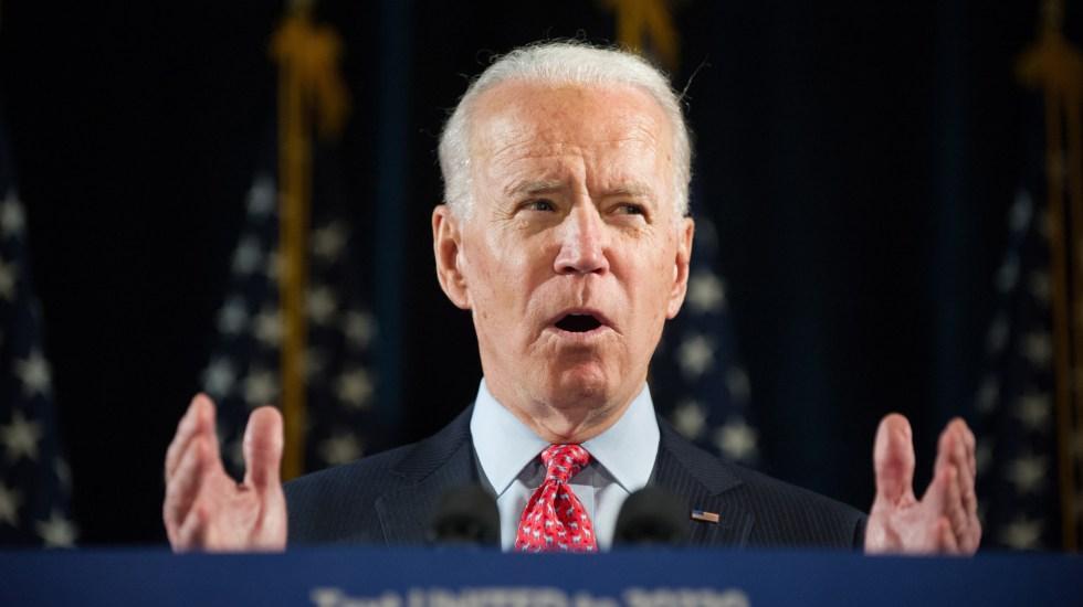 Biden mantiene ventaja de 8.7 por ciento en encuestas sobre Trump previo a elecciones en EE.UU. - Joe Biden. Foto de EFE