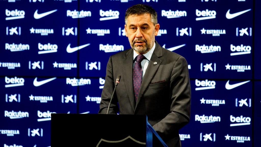 Bartomeu renuncia como presidente del F.C. Barcelona - Foto de EFE