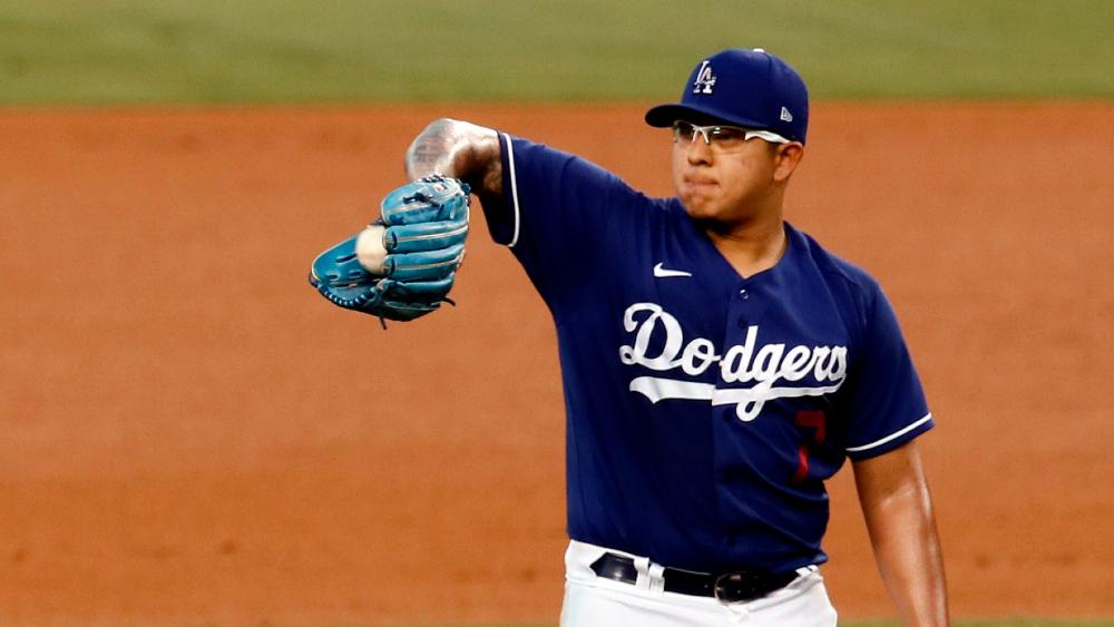 Julio Urías abrirá el cuarto juego de la Serie Mundial con Dodgers; es el cuarto mexicano en lograrlo - Foto de EFE
