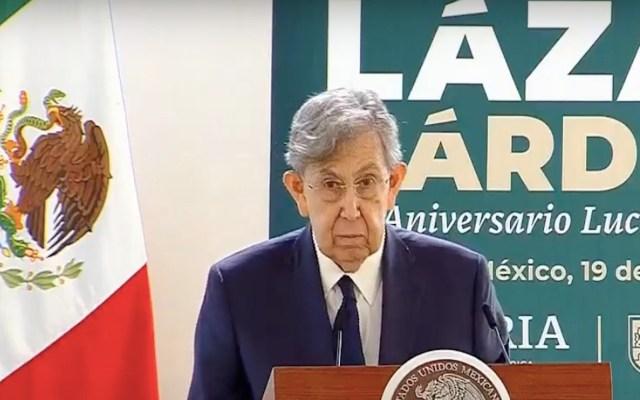 Lázaro Cárdenas respetó a la oposición pese a ataques, asegura Cuauhtémoc Cárdenas - Captura de pantalla