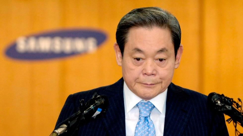 Muere el presidente de Samsung, Lee Kun-hee - Foto de EFE