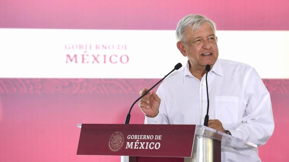 No ignora al gobernador sino al pueblo, critica Alianza Federalista a AMLO por gira en Chihuahua sin Corral - López Obrador en primer acto público en Chihuahua. Foto de lopezobrador.org.mx