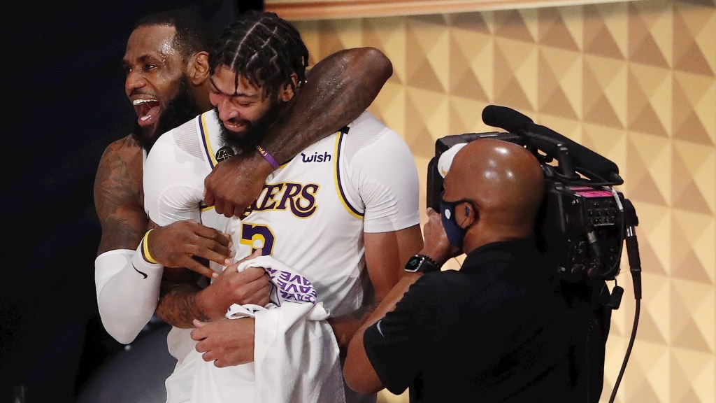 Los Angeles Lakers derrotan a Heat de Miami y se proclaman campeones de la NBA - Los Ángeles Lakers Miami Heat NBA finales