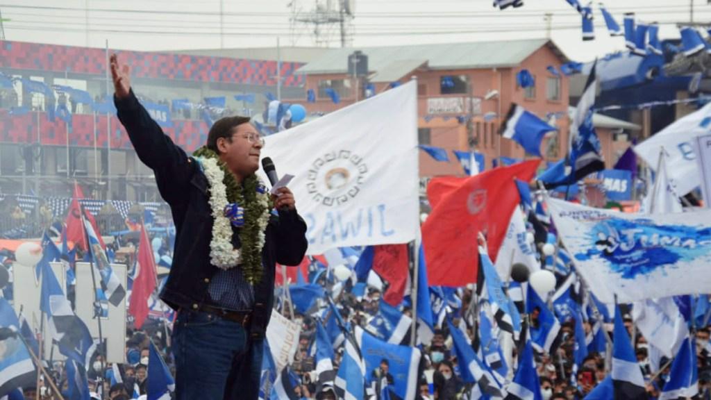 Investidura de Luis Arce como presidente de Bolivia será el 8 de noviembre - Luis Arce, nuevo presidente de Bolivia. Foto de @LuchoXBolivia