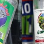Investigan hasta 16 muertes por consumo de alcohol adulterado en pueblo de Honduras - Marcas de presunto alcohol adulterado en Honduras. Foto de @Noticiero_CIN