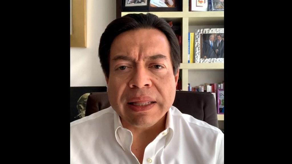 Celebra Mario Delgado victoria como nuevo dirigente de Morena; pedirá a Muñoz Ledo trabajar juntos - Captura de pantalla