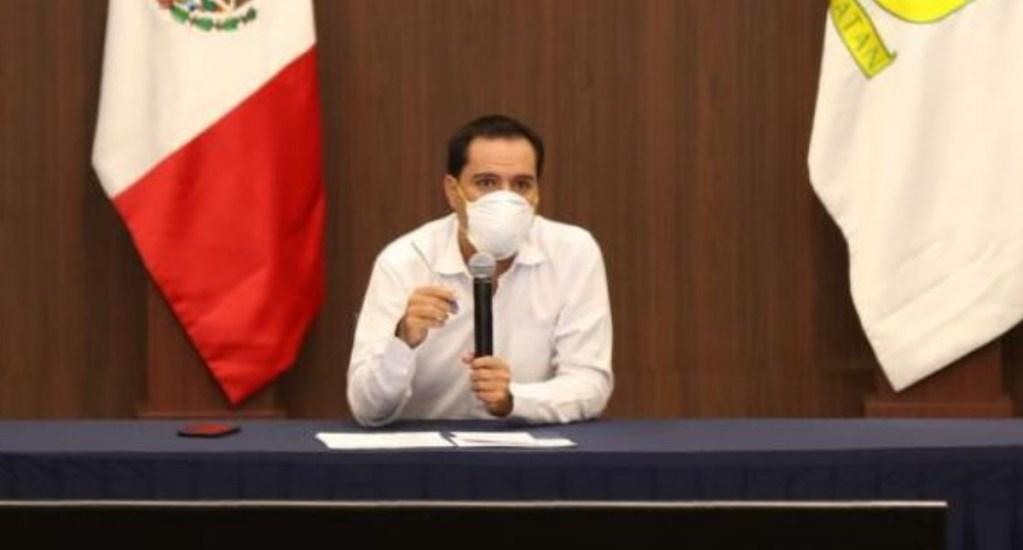 Mauricio Vila, gobernador de Yucatán, da positivo a COVID-19. Noticias en tiempo real