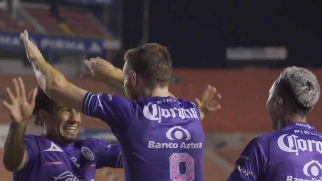Mazatlán golea 5-0 al San Luis; Camilo Sanvezzo anota triplete para la victoria de su equipo - Mazatlán FC Goleada San luis