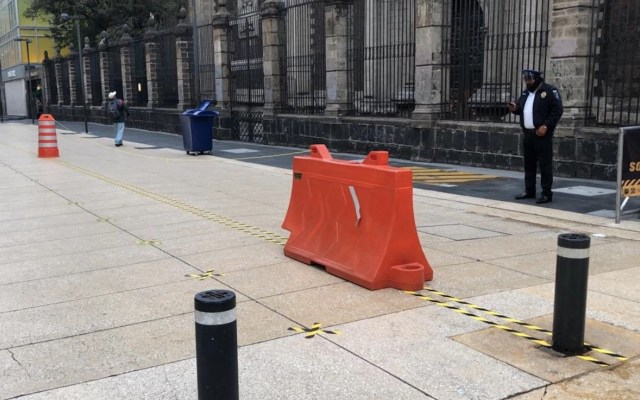 No ha habido ni habrá medidas coercitivas o penalizaciones para evitar rebrotes, asegura Sánchez Cordero - Foto de Autoridad del Centro Histórico CDMX