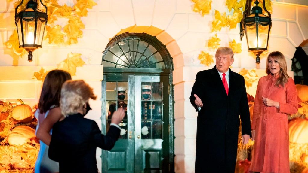 Melania Trump admite que no siempre está de acuerdo con la forma en que su esposo se expresa - Foto Twitter @FLOTUS