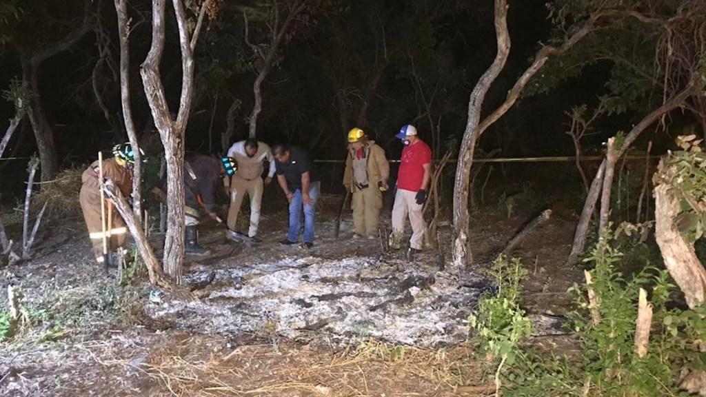 #Video Presunto meteorito cae en ejido de Tamaulipas; caída provoca alerta en Monterrey - Foto de Twitter Milenio Tamaulipas