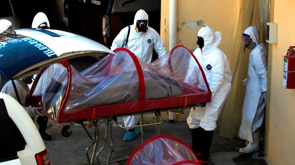 México rebasa las 100 mil muertes confirmadas por COVID-19 - Foto de EFE