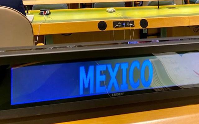 México abstiene voto en la ONU para continuar investigaciones de derechos humanos en Venezuela - México en Consejo General de la ONU. Foto de @MexOnu