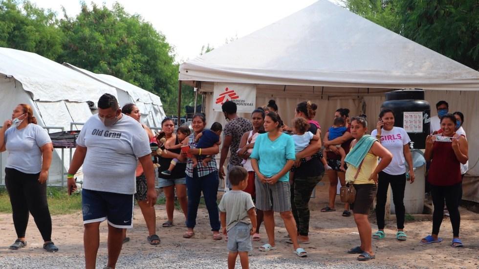 Migrantes varados en México esperan un nuevo destino con Biden - Migrantes centroamericanos en México. Foto de EFE / Archivo