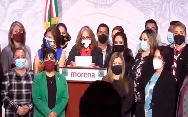 #Video Diputadas de Morena presentarán denuncia por acoso sexual contra Muñoz Ledo - Foto Captura de pantalla