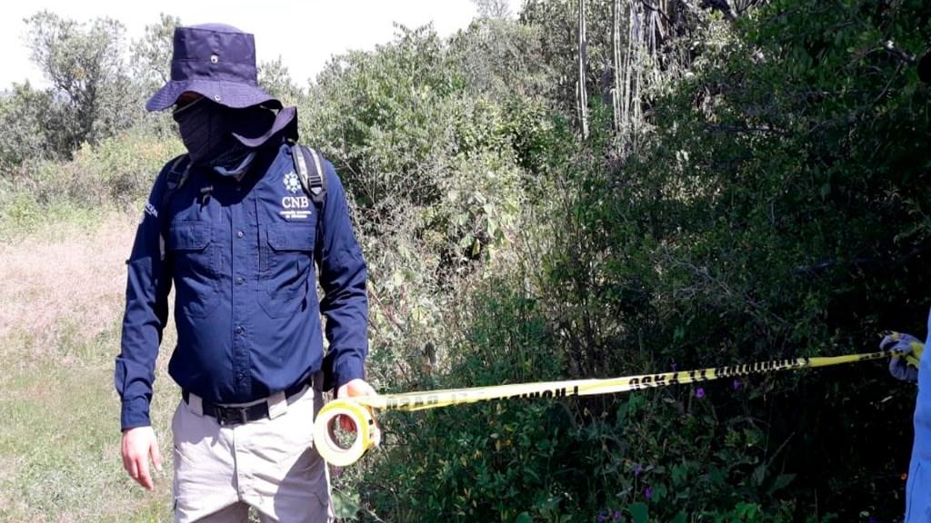Hallan restos de 59 personas en fosas clandestinas en Salvatierra, Guanajuato - Foto Twitter @BusquedaGto