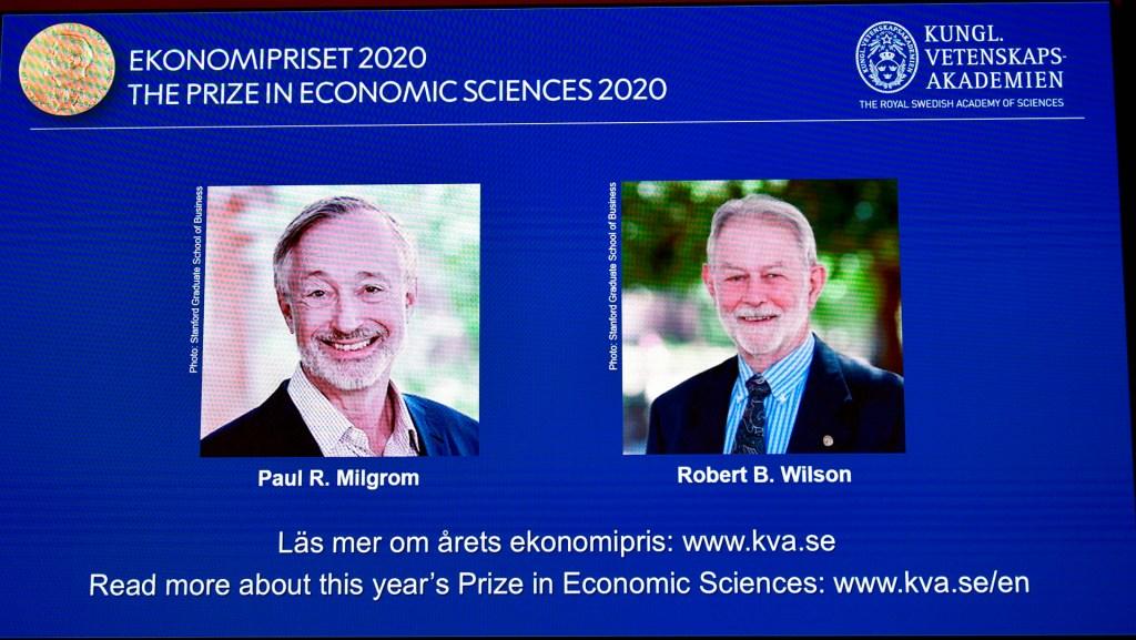 Premio Nobel de Economía para Paul Milgrom y Robert Wilson - Foto de EFE