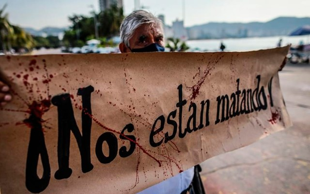 CNDH llama al Gobierno a reforzar protección de activistas y periodistas - Foto EFE