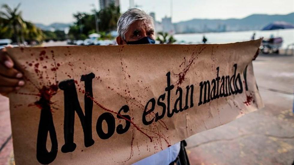Es 2020 el año más violento de la década contra periodistas en México - Foto EFE