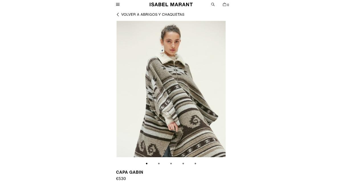 Plagio Indígenas Isabel Marant