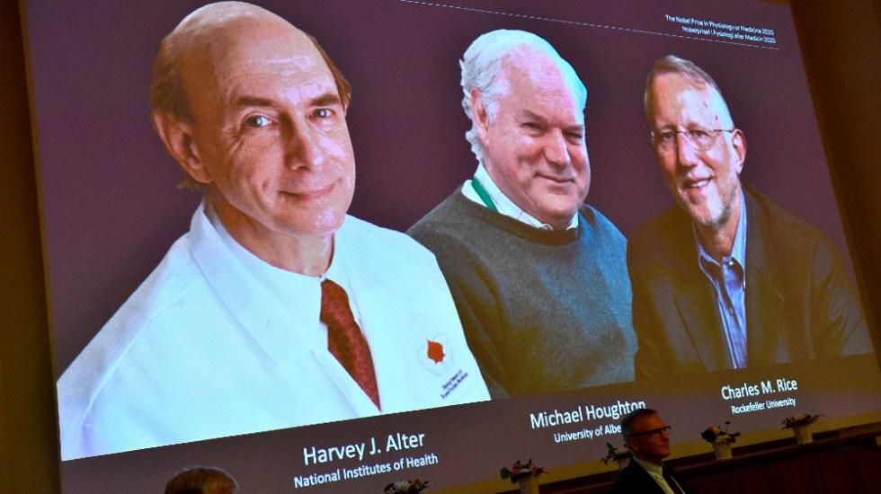 Nobel de Medicina a tres virólogos por descubrir el virus de la hepatitis C - Foto de EFE