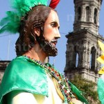 Pese a rebrote, fieles acuden a templo de San Hipólito para celebrar a San Judas - Foto Notimex
