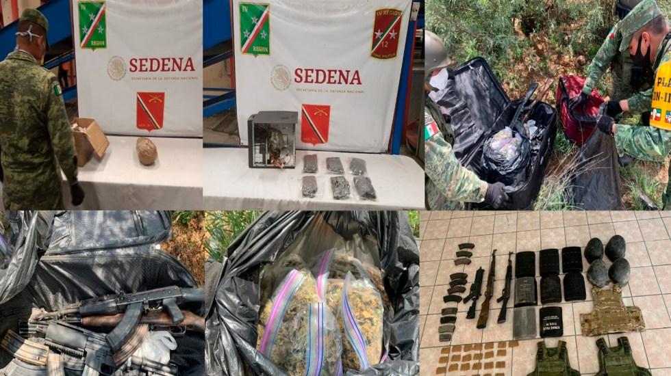 """""""Lucha contra el crimen organizado y el narcotráfico es lucha compartida"""": Christopher Landau - Foto Twitter @SEDENAmx"""