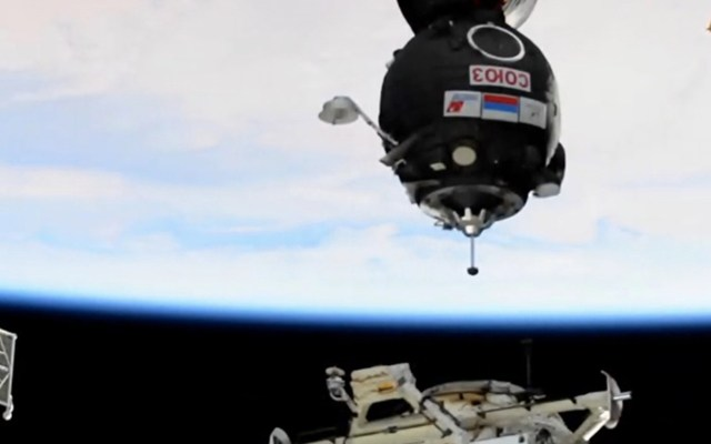 #Video La nave Soyuz MS-17 se acopla a la Estación Espacial Internacional; llega en menos de tres horas - Foto de International Space Station