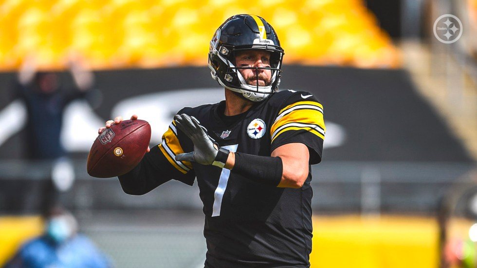 Steelers de Pittsburgh tendrá por primera vez aficionados en las gradas - Ben Roethlisberger, más conocido como Big Ben'. Foto Twitter @steelers
