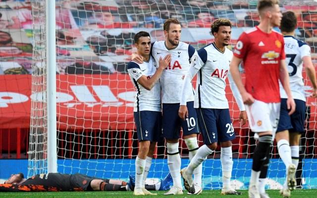 Tottenham humilla al Manchester United; Mourinho cobra su venganza casi dos años después - Tottenham partido Manchester United futbol 04102020 2