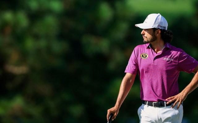 Abraham Ancer concreta la mejor participación para un golfista mexicano en el Masters de Augusta - Foto Twitter @Abraham_Ancer