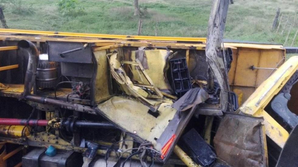 Volcadura de un camión deja 38 heridos en la carretera central de Cuba - Foto de Yanisleydis Peña