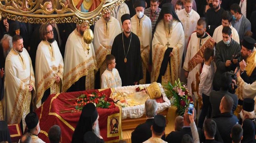 Patriarca del Arzobispado de la Iglesia Ortodoxa Serbia murió por COVID-19 a los 82 años - Foto EFE