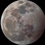 Espectáculo en el cielo por la madrugada: Luna llena, eclipse lunar y aparición de estrella