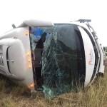 Vuelca autobús con integrantes de FRENAAA en Matamoros; murieron dos personas