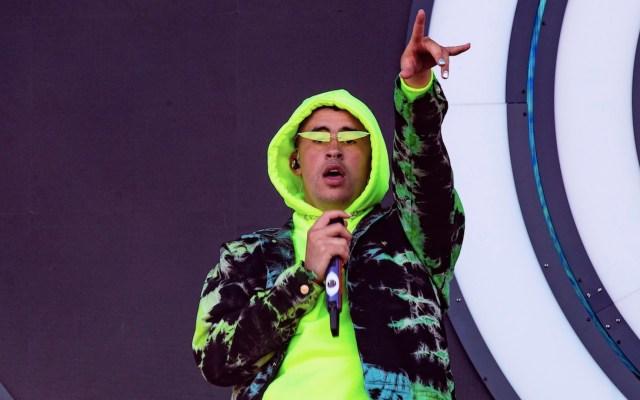 Bad Bunny, el artista más escuchado en México y el mundo durante 2020 en Spotify - Foto de EFE