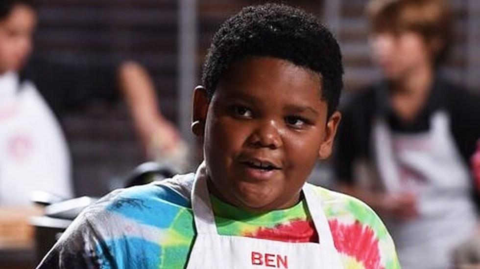 Murió a los 14 años participante de MasterChef Junior - Ben Watkins. Foto de MasterChef Junior