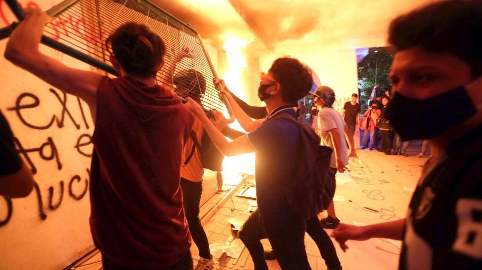 Represión a protesta en Cancún dejó tres heridos de bala y seis lesionados - Cancún Protestas Quintana Roo