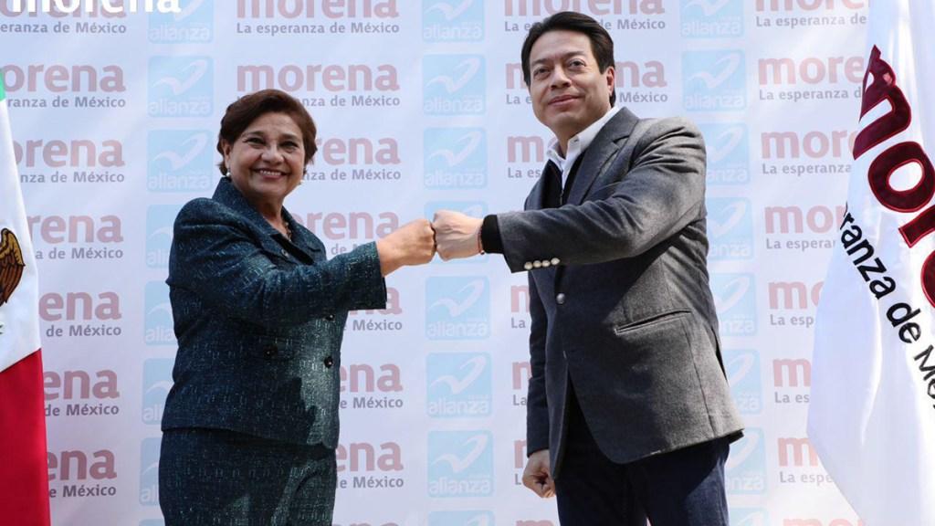 Morena acuerda gran coalición con Nueva Alianza - Coalición de Morena con Nueva Alianza. Foto de @mario_delgado