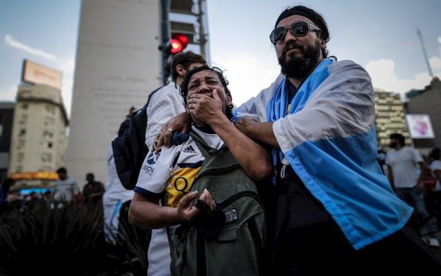 Argentina llora la muerte del astro Diego Maradona - Diego Armando Maradona Argentina 2
