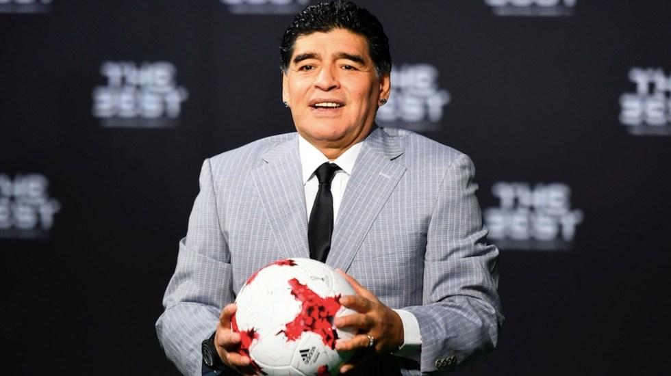"""Equipo médico de Maradona lo abandonó """"a su suerte"""", señala informe - Informe concluye que Maradona tuvo cuidados médicos deficientes e inadecuados. Foto de EFE"""