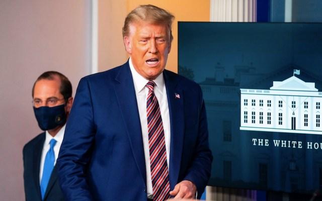Trump acusa a Pfizer de retrasar hasta después de elecciones los avances de su vacuna contra COVID-19 - Foto de EFE