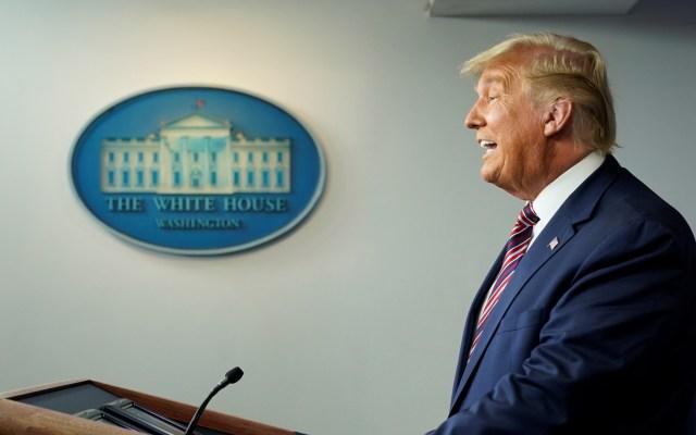 Donald Trump despide al secretario de Defensa de EE.UU. - Donald Trump en segundo mensaje tras elecciones en EE.UU. Foto de EFE