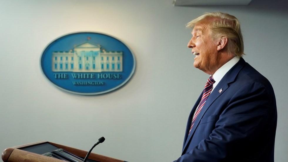 Republicanosse desmarcan de Trump por cuestionar escrutinio electoral - Donald Trump en segundo mensaje tras elecciones en EE.UU. Foto de EFE