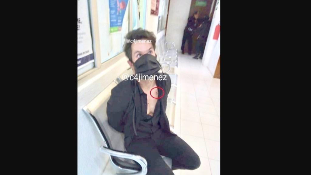 Detienen al actor Eleazar Gómez, acusado por golpear e intentar estrangular a su novia - Foto de @c4jimenez