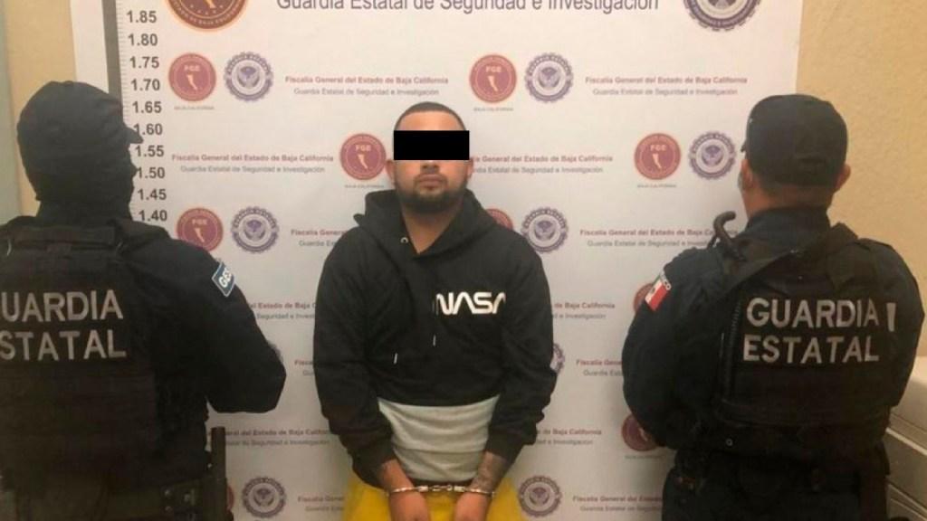 Detienen en Baja California a presunto sicario del Cartel Jalisco Nueva Generación - Foto Especial
